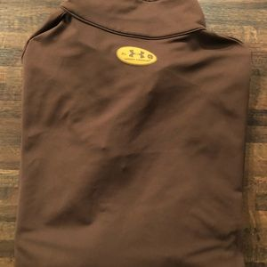 Under Armour Shirts - Brown under armor pull over